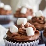 Gluten-Free Hot Chocolate Cupcakes