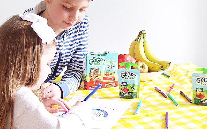 Boost Your Family's Fruit and Vegetable Intake with GoGo squeeZ