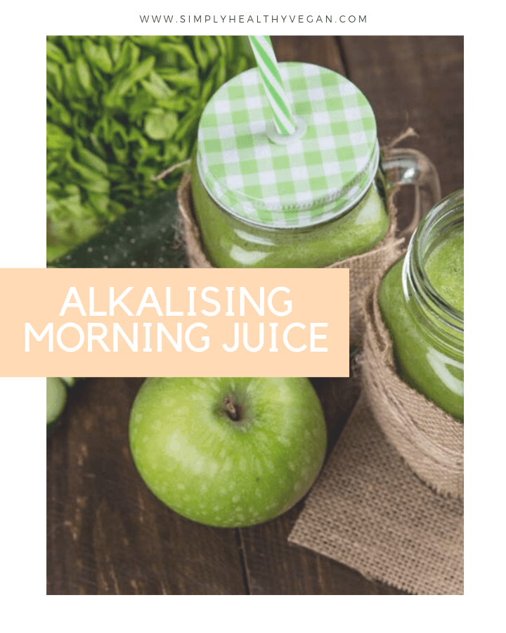 Alkalising morning juice