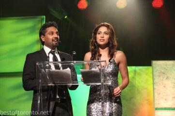 Francis D'Souza, Sangita Patel of City