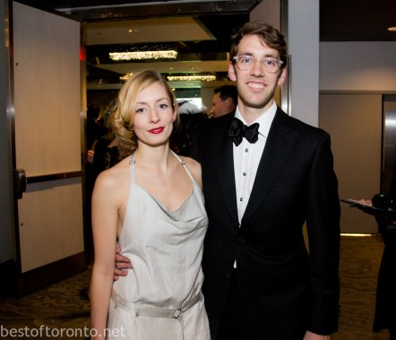 Robyn Callum, Gatsby Gala Co-Chair Stephen Delaney