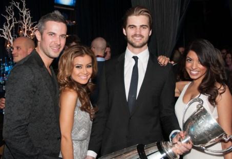 Ryan Gaggi, Melissa Grelo, Mike Bradwell, AJ Sovani Photo courtesy of Motionball
