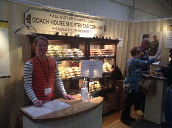 Coach House Shortbread Company. Alert all foodies: shortbread will NEVER be the same! A must buy at this years show!