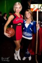 left: Colleen, Toronto Raptors Dance Pak