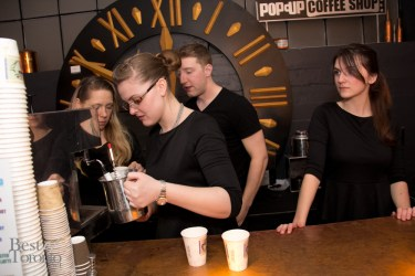 Pop-Up Coffee