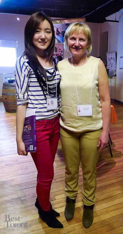Sabrina Zh (BestofToronto.net), Lorraine Thornhill (Lifestyle and Personal Development Coach)