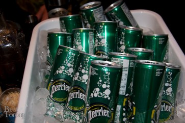 Perrier's new cans