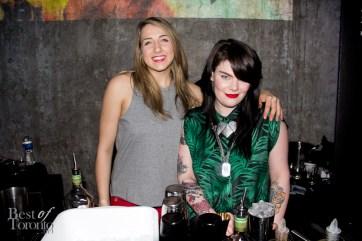 "right: Veronica Saye, The Harbord Room ""Heather Jean"""
