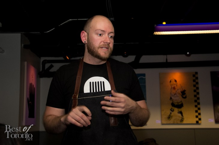 SPiN's executive chef, Jon Lovett