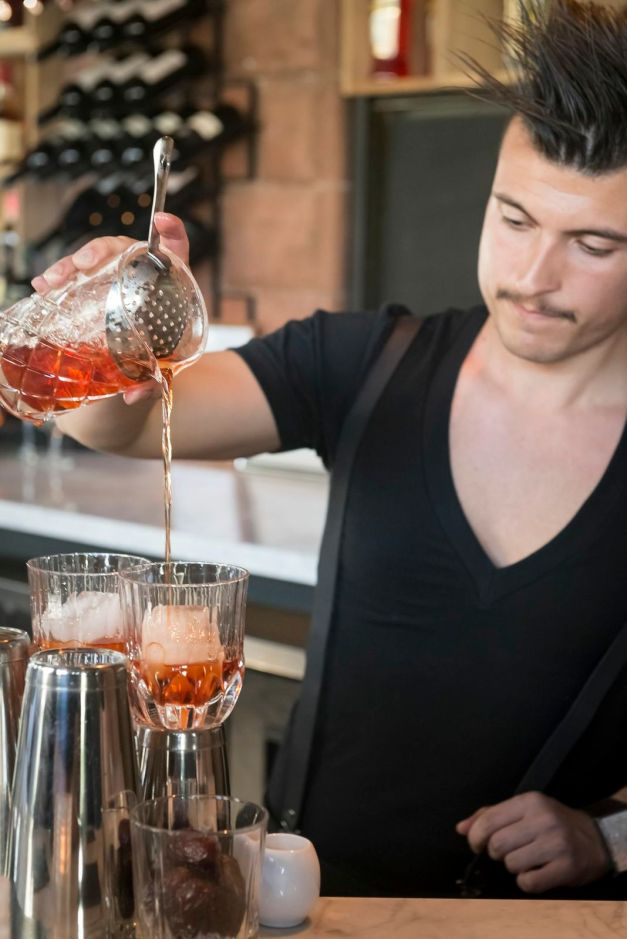 Joao Machado, Ganzi's head mixologist (Photo: Photagonist)