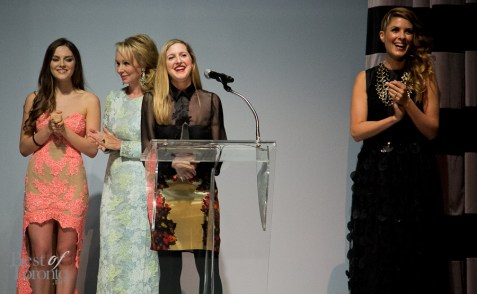 Chloe Rogers, Suzanne Rogers, Sarah Stevenson, Dina Pugliese