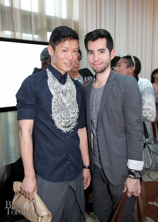 left: Stephen Wong (Greta Constantine)