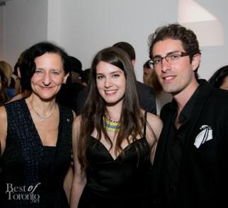 left: Sara Diamond, right: Aristotle Andrulakis