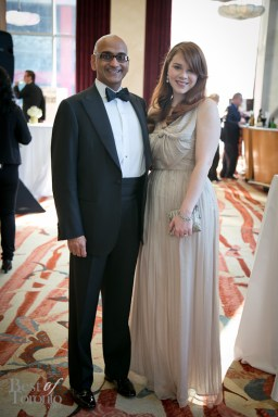 Atul and Roisin Tiwari