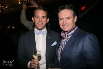 right: Glen Peloso