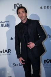 Adrien Brody, amfAR gala, The Carlu