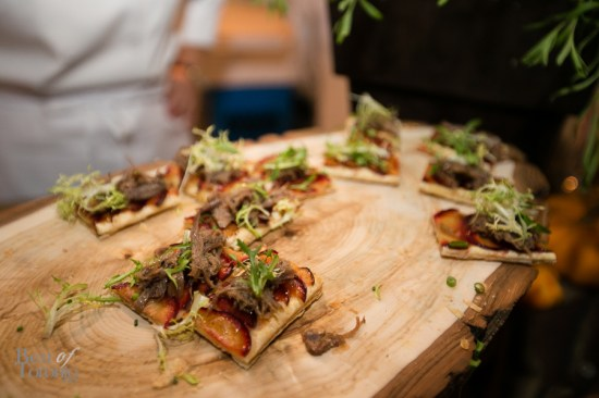 Tian of Spiced Plum and Pulled Duck Confit - Elaine Wong, The King Edward Hotel