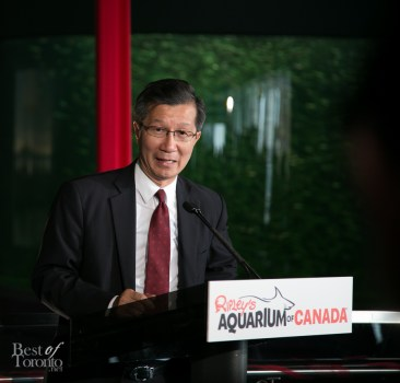 Michael Chan, Ontario Minister of Tourism, Culture and Sport