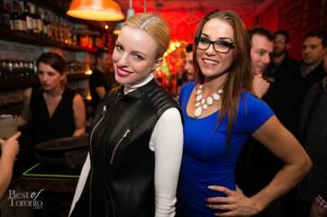 left: Megan Mane