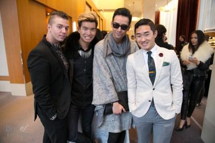 Daniel Desforges, Alexander Liang, Julio Reyes, Lance Chung