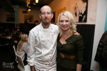 Chef Eyal Liebman, Abbey Sharp
