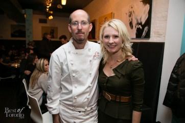 Chef Eyal Liebman, Abbey Sharp