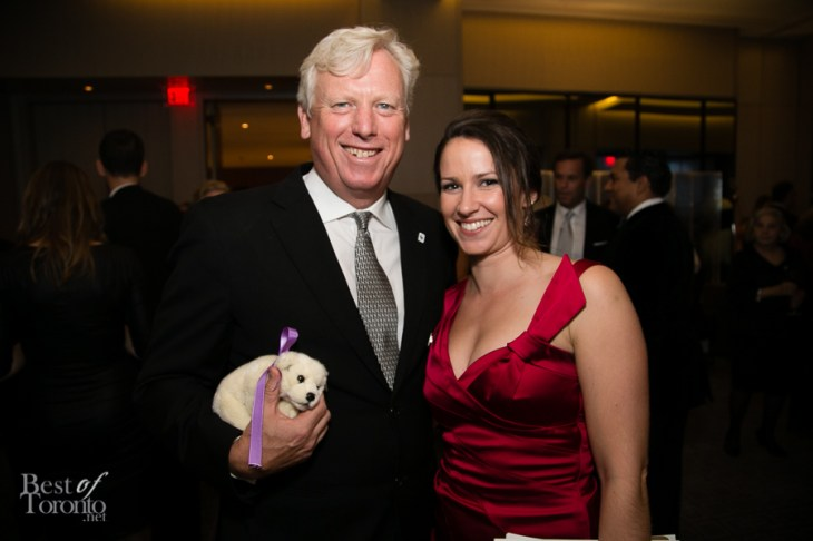 l: The new CEO and President of WWF Canada, David Miller