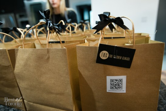 Gift bags with ingredients from Qualifirst