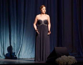 Ensemble Studio Competition finalist mezzo-soprano Rachel Wood   Photo: Michael Cooper