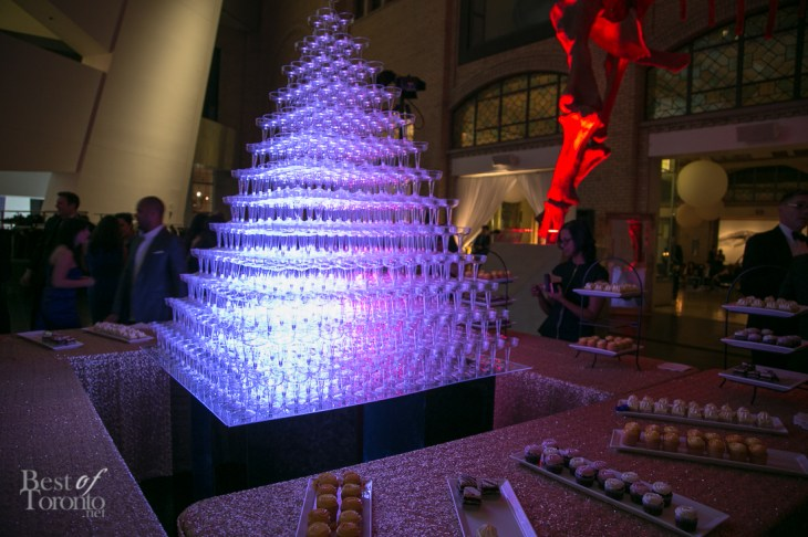 The dessert setting back at the ROM