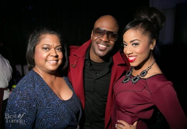 Maestro Fresh Wes with Patricia Juggernauth and her mom
