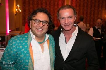 Chefs Vikram Vij, Mark McEwan