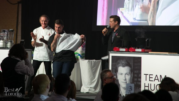 Chuck Hughes showing us what's under the apron