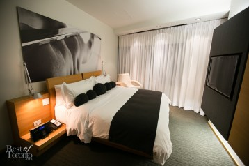 Clean and modern designs in the suite