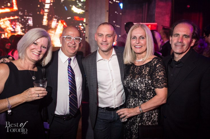 2nd from left: Steve Levy (Chief Operating Officer, Ipsos Reid), Mark Childs (Chief Marketing Officer, Samsung Electronics Canada), Gillian Graham (CEO, Institute of Communication Agencies), Stephen Graham (Chief Marketing Officers, Maple Leaf Foods Inc.)