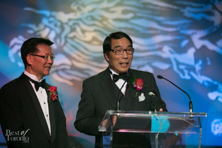 Yee Hong Foundation Founder Dr. Joseph Wong and Yee Hong Foundation President Stephen Siu