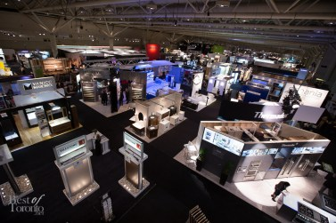 Overlooking the Interior Design Show at the Metro Convention Centre North Building