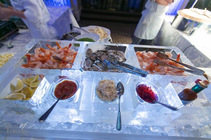 Seafood ice bar