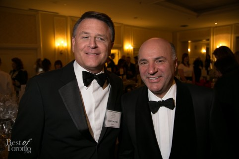 David Chilton and Kevin O'Leary of Dragon's Den