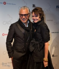 Joe Mimran and Kimberley Newport-Mimran