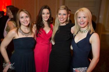Amy Dodds, Joanna Nicholson, Regan Cairns, Astrid-Maria Ciarallo