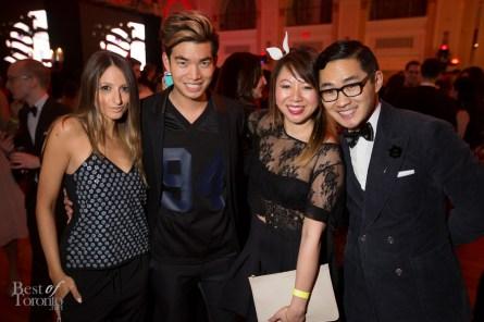 Justine Iaboni, Alexander Liang, Cynthia, Lance Chung