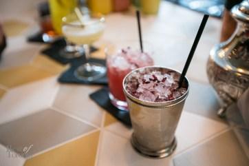 Cocktails including mint julep