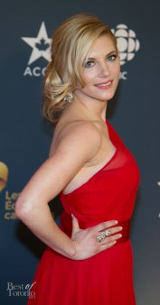 Katheryn Winnick, nominated for Actress in a Leading Dramatic Role