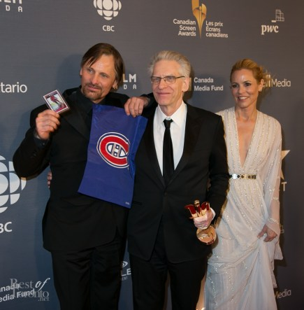 Viggo Mortenson, David Cronenberg, Maria Bello