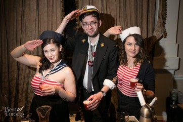 The sailors from The Spoke Club including Joe Howell