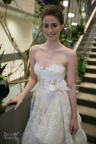 Wedding dress by Pnina Tornai