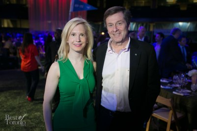 My friend Astrid-Maria Ciarallo with John Tory