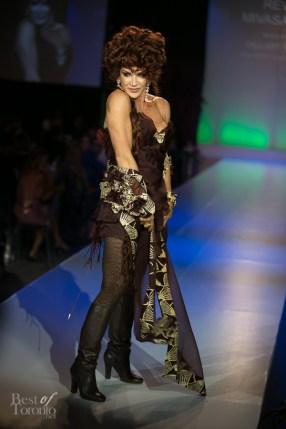 HGTV's Love it or List It, Hilary Farr, wearing Réva Mivasagar