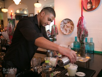 Making margaritas